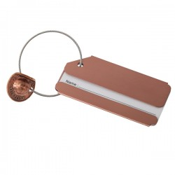 Half Penny Hat Luggage Tag from