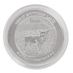 1/2 oz Silver Horrie Single