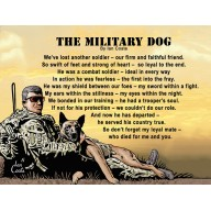 The Military Dog Magnet