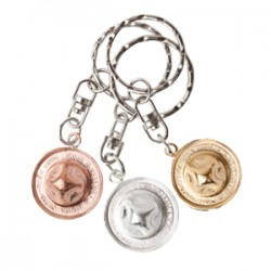 NZ Penny Hat Key Ring from